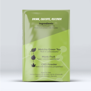 Back of packet for rise and grind elixir
