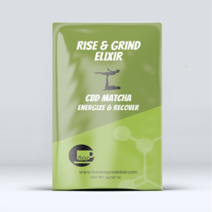 CBD Matcha Green Tea - Rise and Grind