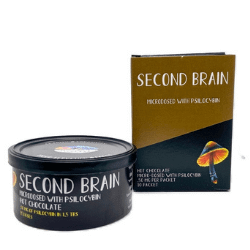 Product photo for second brain hot chocolate